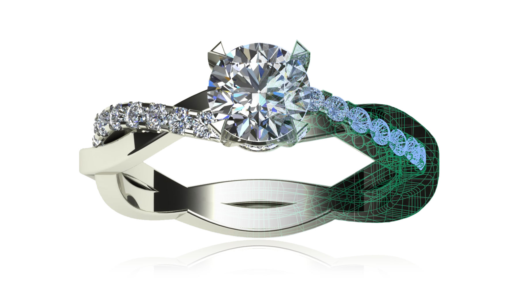 Customized Engagement Ring