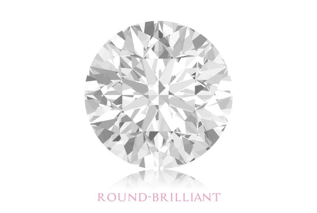 Round Brilliant Diamond Shape